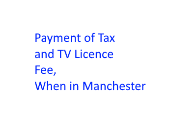 Payment tax and tv 20 fonts